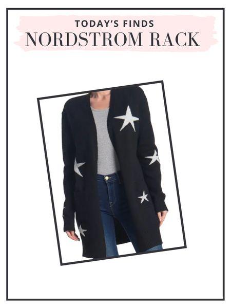 Love this star print cardigan for fall!   #LTKsalealert #LTKunder100 #LTKunder50