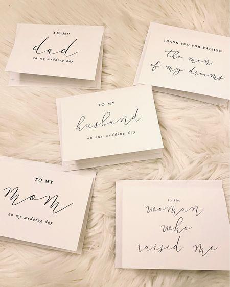 Wedding cards 🤍✨ http://liketk.it/3eRv5 #liketkit @liketoknow.it #LTKwedding