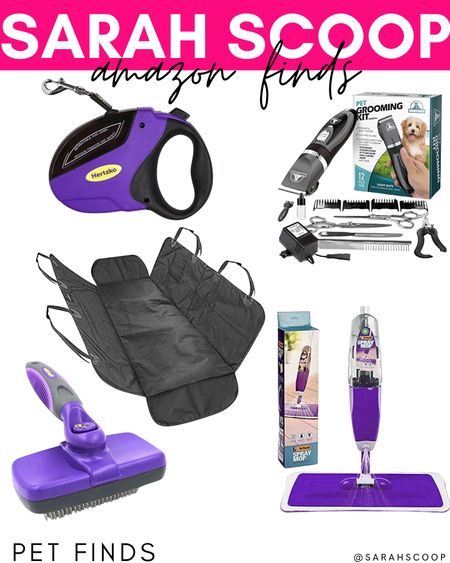 If you love your pet as much as we do look into purchasing these awesome pet finds from Amazon! 🐶🐱💜  #petfinds#dog#cat#petgroomingkit#Petunion#dogseatcover#floormop#Vorfreude#slickerbrush#Hertzko#retractableleash#dogleash#amazon#amazonfinds#petproducts#carseatcover#pets  #LTKhome #LTKGiftGuide #LTKunder50