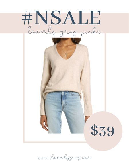 This is the perfect neutral sweater for fall and winter! And a great price too!   #LTKunder100 #LTKstyletip #LTKsalealert