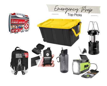 With the weather the last week, the gulf coast (specifically Texas) is hopefully experiencing what will be the worst of rainy season for 2021. Hunkering indoors this weekend, I started thinking about past hurricanes and the winter storm that hit this year. I put together some top picks for emergency items that I've been collecting if worst comes to worst! Download the LIKEtoKNOW.it shopping app to shop this pic via screenshot #liketkit @liketoknow.it #LTKunder50 @liketoknow.it.family @liketoknow.it.home #LTKhome #LTKitbag #emergency #emergencykit #earthquake #hurricane #naturaldisaster #safety #preparation http://liketk.it/3g0m3