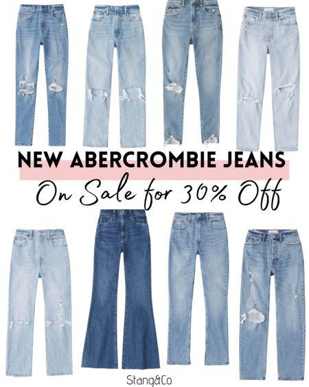 30% off all Abercrombie jeans!   #LTKsalealert #LTKstyletip #LTKunder100