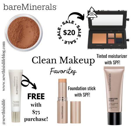 bareMinerals Clean Makeup! *Sale Ends 2/3!  http://liketk.it/36ZuZ #liketkit @liketoknow.it #LTKcleanmakeup  #LTKbeauty #LTKunder100 #LTKsalealert