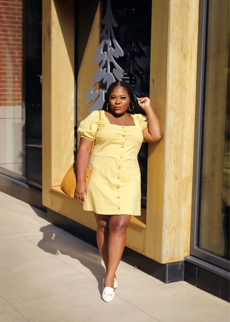 The perfect Aline dress that can take you from brunch to work. And it's under $30 . It's available in 3 colors @Walmart @WalmartFashion #WalmartFashion #summerdresses #SummerOutfits   #LTKstyletip #LTKcurves #LTKworkwear