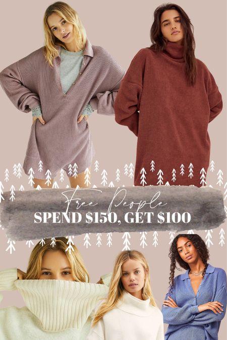 Free people spend $150, get $100! Such a good sale. http://liketk.it/33AVA #liketkit @liketoknow.it
