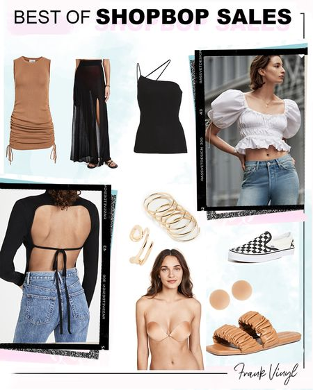 #liketkit http://liketk.it/3cTHp #LTKshoecrush #LTKsalealert @liketoknow.it best items from the shopbop sale including straight legged ripped jeans, ear cuffs, neutral sandals, backless tops and puff sleeve blouses
