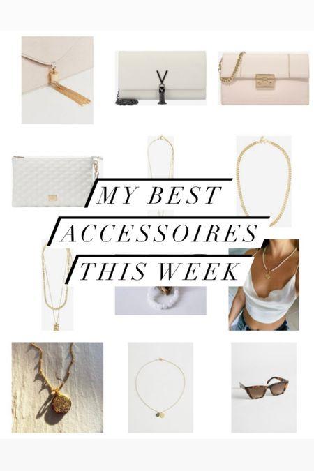 🇩🇪: Meine besten Finds zu den besten Accessoires diese Woche!! 😍  . . 🇺🇸: My best finds on the best accessories this week !!  😍  #bestoftheweek #accessoires #whitebag #clutch #necklacegold   #LTKGiftGuide #LTKstyletip #LTKeurope