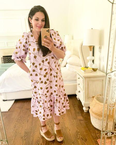 Summer dresses, midi length summer dress, target dress  http://liketk.it/3fGfG #liketkit @liketoknow.it #LTKunder50