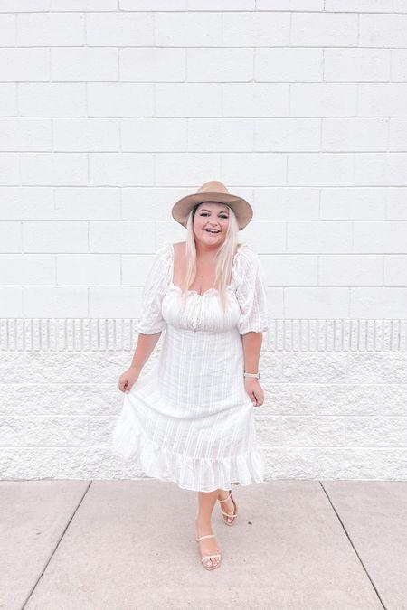 Little white dress, midi dress, bridal shower, rehearsal, bride to be, summer shoes, summer outfits, amazon finds, summer dresses http://liketk.it/3iCpl #liketkit @liketoknow.it #LTKwedding #LTKunder50 #LTKshoecrush