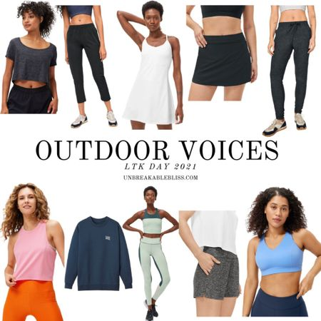This activewear from Outdoor Voices is part of the LTK Day sale and it makes me actually want to go work out! @liketoknow.it #liketkit #LTKDay #LTKfit #LTKsalealert http://liketk.it/3gXDU