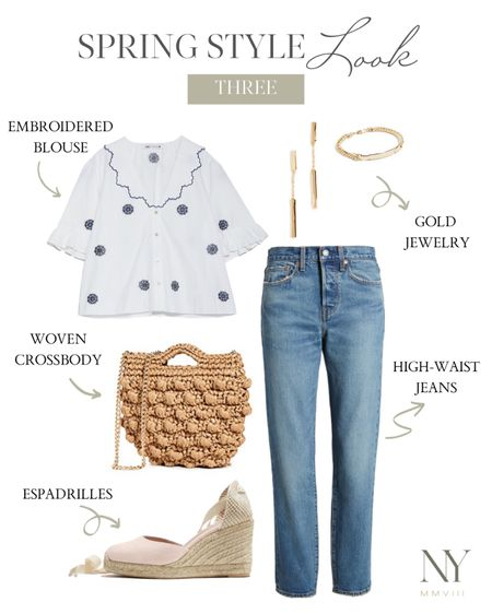 My favorite of the five spring outfit ideas for post-quarantine I shared on natalieyerger.com in April. The blouse is Zara and can be found on my blog. http://liketk.it/2O017 #liketkit @liketoknow.it #LTKstyletip #LTKunder100 #LTKspring natalie yerger, spring jeans, espadrille, white top, blouse