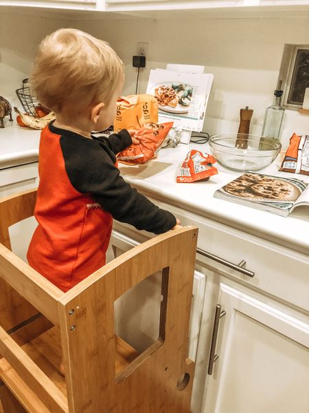 """Great entertainment for a toddler, having them """"help"""" you in the kitchen! These are all from Amazon and they would be a great gift for your little one   #LTKkids #LTKgiftspo #LTKhome"""