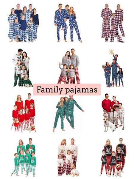 Family pajamas   #LTKHoliday #LTKSeasonal #LTKfamily