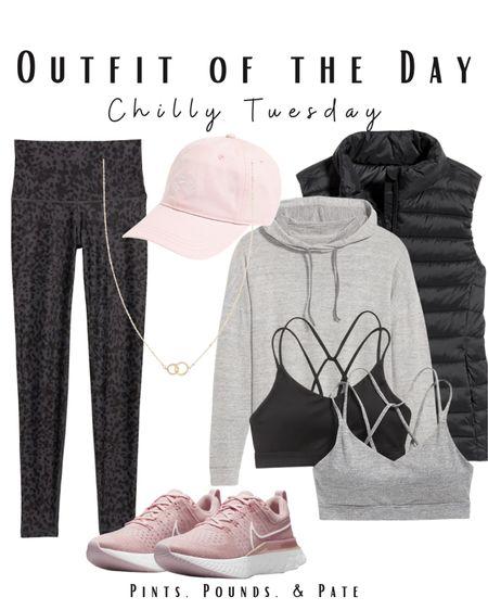 Chilly Tuesday perfect athleisure! All pieces under $100! #ootd #athleisure  #LTKfit #LTKstyletip #LTKunder100