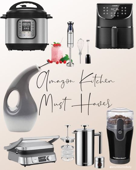 Amazon kitchen must haves that are also well rated from their customers most loved section!   #LTKunder100 #LTKunder50 #LTKhome
