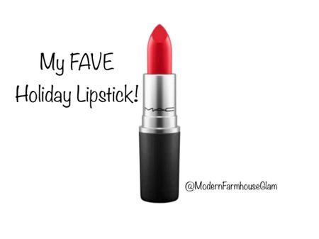 My Absolute favorite red lipstick for Christmas. MAC Red lipstick  Christmas make up, Christmas fashion style, Christmas pictures, Mac, lip gloss, winter fashion ModernFarmhouseGlam   #LTKSeasonal #LTKHoliday #LTKbeauty