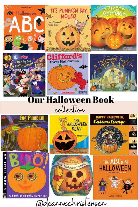 Our Halloween Book Collection 🎃  #LTKkids #LTKSeasonal #LTKHoliday