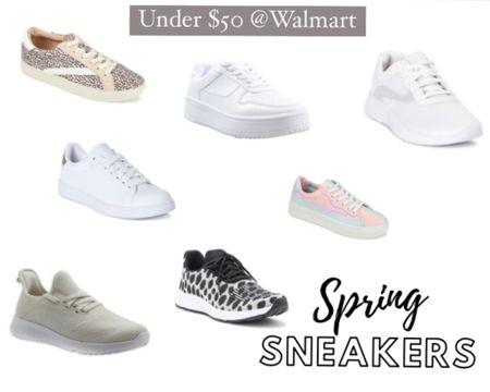Spring sneaker picks all under $50 @walmart! #walmart #sneakers #springstyle http://liketk.it/3cQZG #liketkit @liketoknow.it #LTKunder50 #LTKshoecrush #LTKstyletip