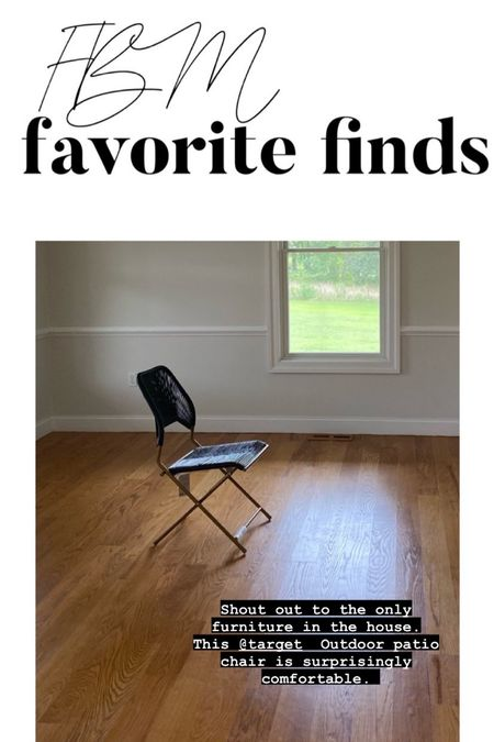 Patio chair, black chair, folding chairs, target home decor, chairs under $50, home style   #LTKhome #LTKunder50