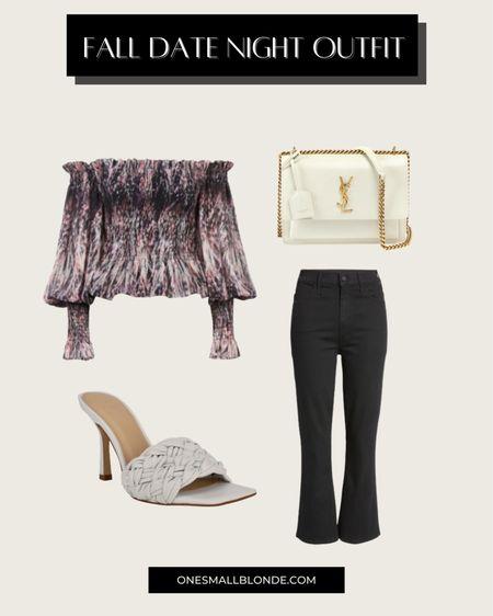 Fall date night outfit idea 🖤  #LTKshoecrush #LTKunder100 #LTKstyletip
