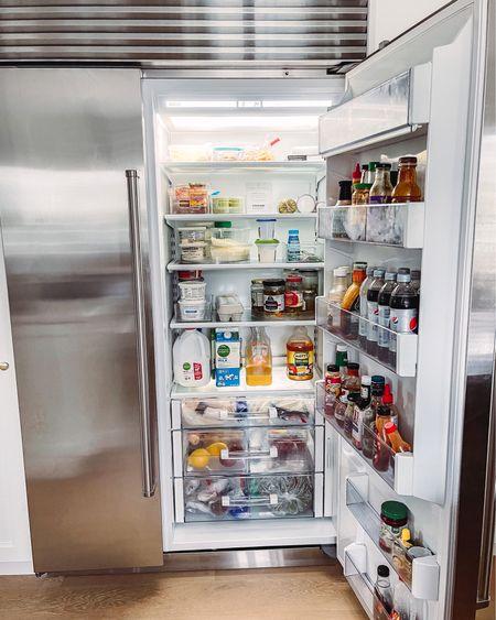 Refrigerator organization! #fridge #refrigerator #organization #kitchenorganization #kitchen #organize http://liketk.it/3hhtV #liketkit @liketoknow.it