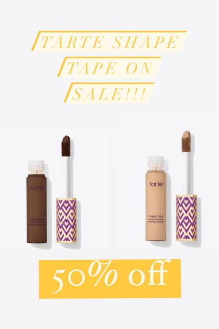 Tarte shape tape on sale!!! 50% off!!!  #LTKbeauty #LTKSeasonal #LTKsalealert