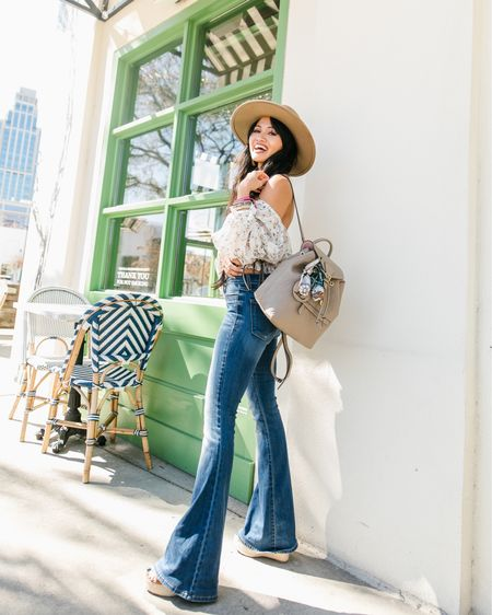 Flare jeans. Good American http://liketk.it/3hIxf #liketkit @liketoknow.it #LTKstyletip #LTKsalealert #LTKunder100