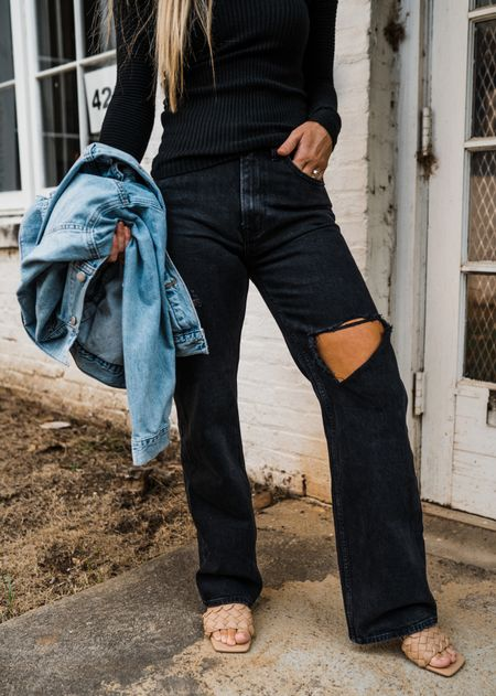 Black jeans TTS  #LTKunder100