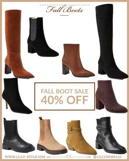 Fall boots - sale #fallstyle  #LTKshoecrush
