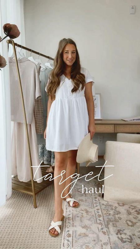 New Target haul 💕 Love these cute, adorable dresses and blouses!  #littlewhitedress #whiteblouse #floralprint #floraltop #maxidress #longsleevedress #targetfashion #targethaul   #LTKstyletip #LTKunder50