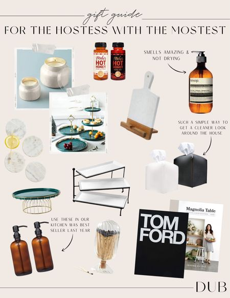 Gift ideas for the host/hostess!! Have some of these items like the soap dispensers in my home and think they would be such a good gift to give!   #LTKSeasonal #LTKHoliday #LTKGiftGuide