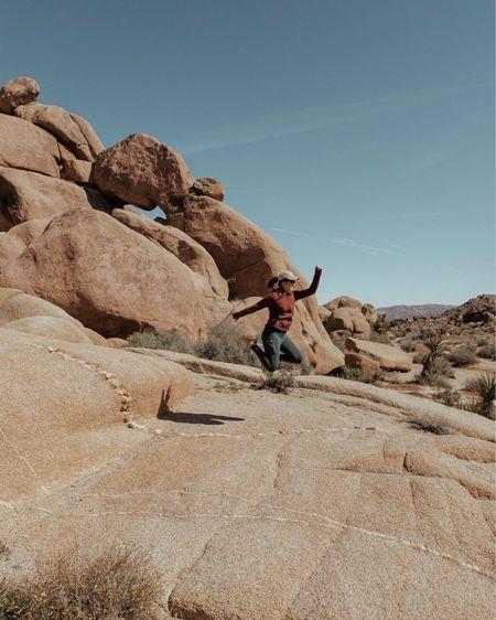 Hiking adventures in Joshua Tree! Cute hiking outfit. :) http://liketk.it/2AUjr @liketoknow.it #liketkit