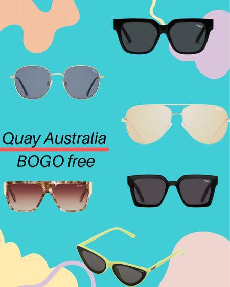 Quay Australia BOGO free until July 9th. 🕶 - http://liketk.it/3iHcm #liketkit #LTKsalealert #LTKunder50 #LTKunder100 @liketoknow.it      __  Shop my daily looks by following me on the LIKEtoKNOW.it shopping app