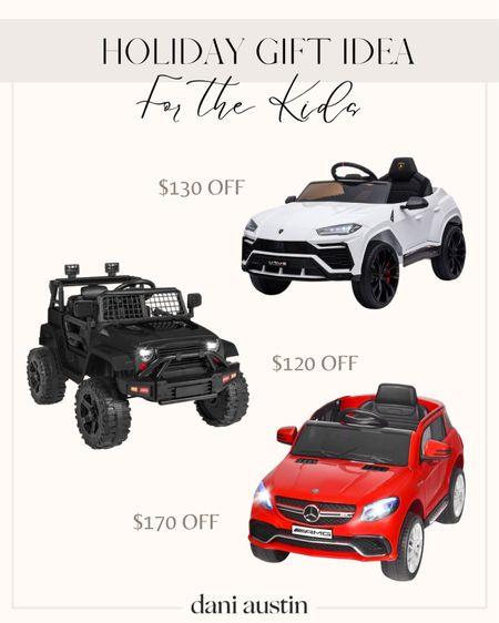 Holiday gift guide. Kids cars  #LTKsalealert