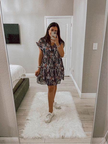 My new favorite dress! So flattering, comes in different prints and can be worn so many ways!   #LTKstyletip #LTKunder50 #LTKSeasonal