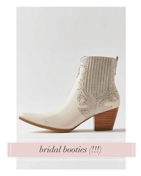 THE bridal boot of the season!   #LTKwedding #LTKshoecrush