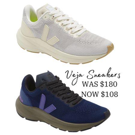 Veja Sneakers on sale, runs large (size 1/2 down)   #LTKsalealert #LTKshoecrush #LTKstyletip