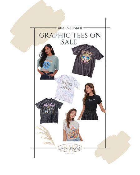 Graphic tees under $15 + 25% off! All on sale! http://liketk.it/3hmTW @liketoknow.it #liketkit #LTKDay #LTKsalealert #LTKunder50