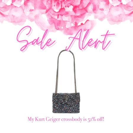 My Kurt Geiger bag that you guys loved last year is in stock and on sale!   #LTKunder100 #LTKsalealert