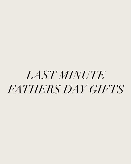 Last minute Father's Day gifts! http://liketk.it/3h5R9 @liketoknow.it #liketkit