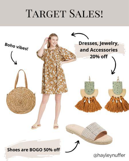 Target Shoes BOGO 50% off!  Dresses, accessories, jewelry all 20% off!!   Download the LIKEtoKNOW.it shopping app to shop this pic via screenshot    http://liketk.it/3bObN   #liketkit @liketoknow.it #LTKSpringSale #LTKsalealert #LTKunder50