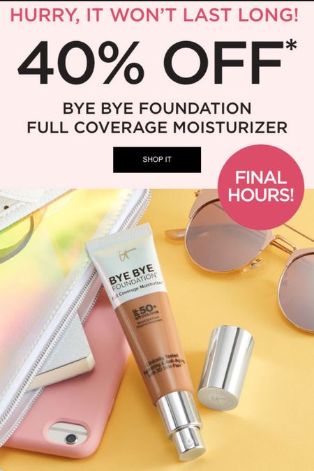 One of my favorite foundations!!!   http://liketk.it/3jH7o #LTKsalealert #liketkit   #LTKbeauty #LTKunder50 @liketoknow.it Screenshot this pic and follow me to get shoppable product details with the LIKEtoKNOW.it shopping app