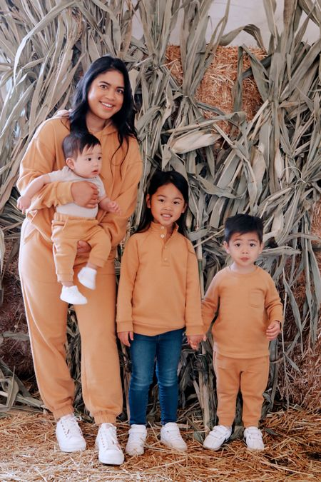 Fall comfy clothes to match! Matching family outfits / lounge wear   #LTKfamily #LTKSeasonal #LTKkids