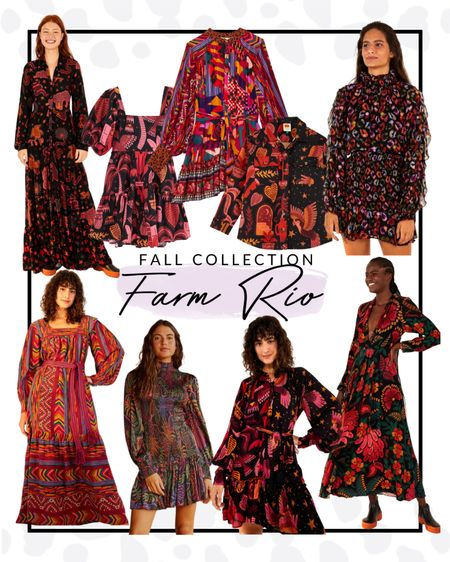 You all know how much I love Farm Rio and they just released their fall collection and I am swooning! These dresses and shirts will definitely make you stand out.   #LTKfit #LTKcurves #LTKSeasonal