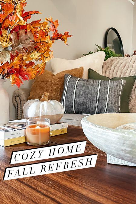 Cozy fall home refresh
