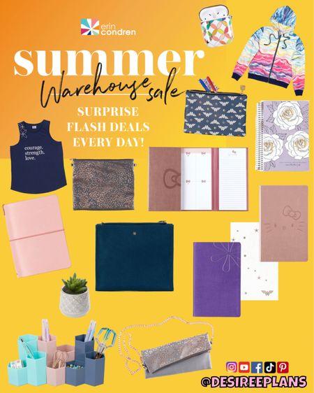 @erincondren Summer Warehouse Sale! Shop for early Christmas Gifts, school supplies & more! 50% off select items!   #LTKfamily #LTKsalealert #LTKunder50