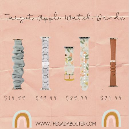 Found the cutest Apple Watch bands at Target today! I love how versatile the Apple Watch can be just by switching out the bands ♥️  I hope you guys had the best 4th of July weekend ♥️🤍💙 http://liketk.it/3j5Ww #liketkit @liketoknow.it    Shop your screenshot of this pic with the LIKEtoKNOW.it shopping app 🤩