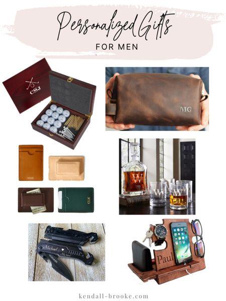 Personalized gifts for men http://liketk.it/33EQS #liketkit @liketoknow.it  #LTKgiftspo