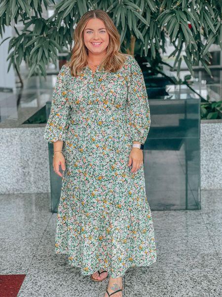 Loving this floral dress. It's an XXL and under $40   #liketkit #LTKcurves #LTKunder50 #LTKstyletip @liketoknow.it http://liketk.it/3iDSP
