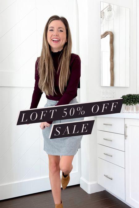 Loft 50% off sale CODE LOVEU